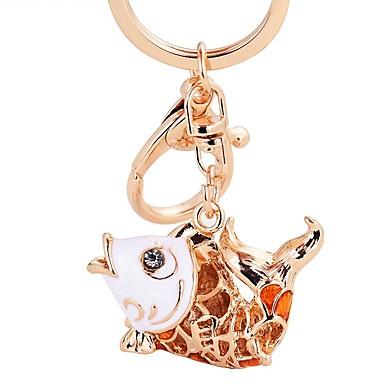 חיה מצדדים במחזיק מפתחות סגסוגת אבץ מזכרות מחזיקי מפתחות - 1 pcs כל העונות
