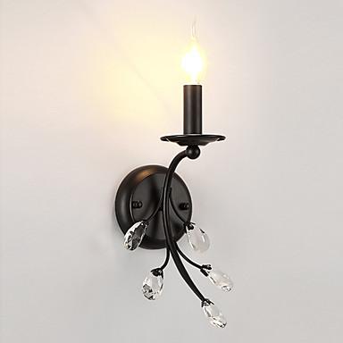 LightMyself™ Kryształ DOPROWADZIŁO / Kraj Lampy ścienne Salon / Sypialnia / Kuchnia Metal Światło ścienne 110-120V / 220-240V 40 W / E12 / E14