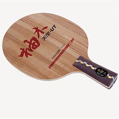 DHS® UT CS Ping Pang/מחבטי טניס שולחן לביש עמיד עץ סיבי פחמן 1