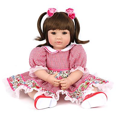 Npk Doll Bambole Reborn Bambine 20 Pollice Silicone Vinile - Neonato Realistico Carino Fatto A Mano A Prova Di Bambino Non Toxic Per Bambino Unisex Giocattoli Regalo - Tono Naturale Della Pelle #06573929
