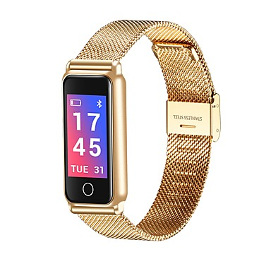 povoljno satovi-Muškarci Žene Casual sat Modni sat digitalni sat Digitalni Crna / Srebro / Zlatna Vodootpornost Bluetooth Kalendar Šiljci za meso Luksuz Moda - Zlato Crn Pink