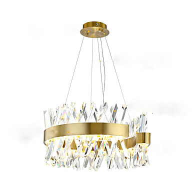 QIHengZhaoMing Żyrandol Światło rozproszone Malowane wykończenia Metal Ochrona oczu 110-120V / 220-240V Źródło światła LED w zestawie / LED zintegrowany