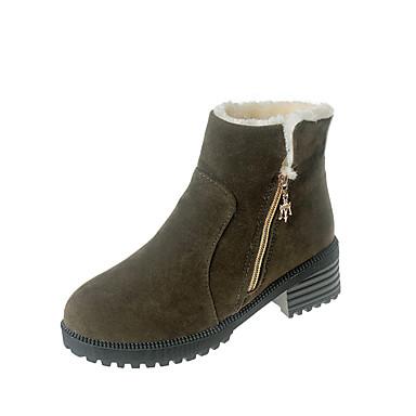 Mulheres Sapatos Couro Ecológico Verão Conforto Sandálias / Chinelos e flip-flops Caminhada Sem Salto Dedo Fechado Preto / Cinzento /