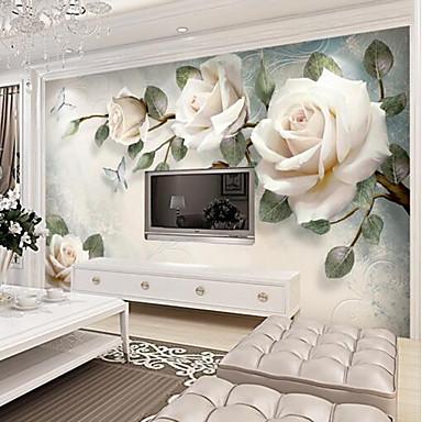 c45e8bcc17e světle růžová růže zakázka 3d velká stěna pokrývající nástěnné tapety fit  restaurace tv pozadí květina