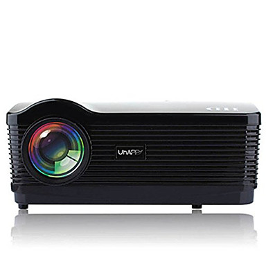 U2 LCD Projektor do kina domowego LED Projektor 3000 lm Android 4.4 Wsparcie 1080p (1920x1080) 25-250 in Ekran