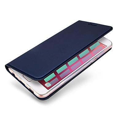 מגן עבור Huawei P10 Plus P10 מחזיק כרטיסים עם מעמד כיסוי מלא צבע אחיד קשיח עור PU ל P10 Plus P10 Lite P10 Huawei P9 Lite