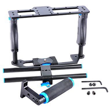yelangu®0107e-alumínium kamera videokazetta készlet