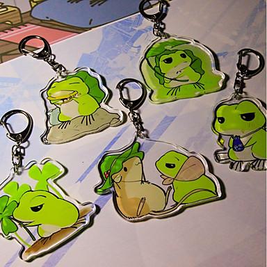 בעלי חיים מצדדים במחזיק מפתחות אקרילי מזכרות מחזיקי מפתחות - 1