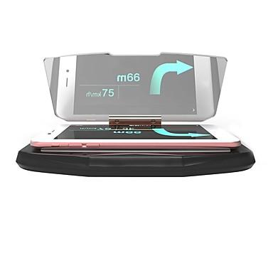ziqiao universell mobil gps navigasjonsbrakett hudhodet opp display for smart telefon bil montering stativ telefonholder