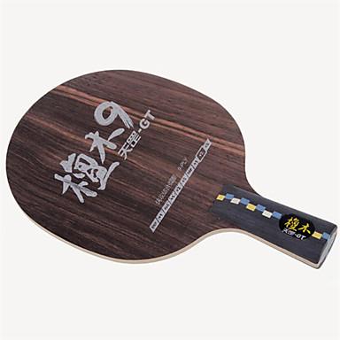 DHS® GT9 CS Ping Pang/מחבטי טניס שולחן לביש עמיד עץ סיבי פחמן 1