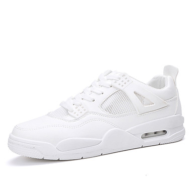 בגדי ריקוד גברים רשת אביב / סתיו נוחות נעלי אתלטיקה הליכה לבן / אדום / כחול