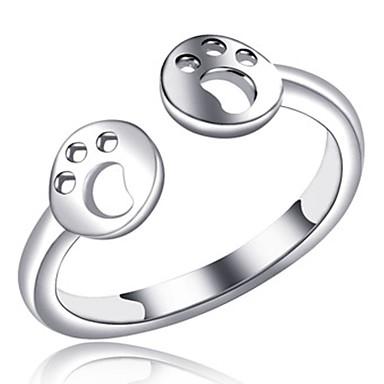בגדי ריקוד נשים קאף טבעת / טבעות לפרקי האצבעות - נחושת אופנתי 7 כסף עבור יומי / משרד קריירה