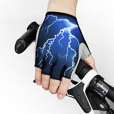 WEST BIKING® Sports Gloves Bike Gloves / Cycling Gloves Quick Dry Wearable Breathable Wearproof Anti-skidding Wicking 3D Pad Fingerless