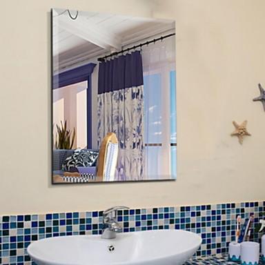מראה מבריק עכשווי זכוכית משוריינת יחידה 1 - טיפוח הגוף אביזרי מקלחת / מראה מלוטשת