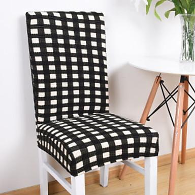 עכשווי 100% פוליאסטר ג'אקארד כיסוי לכיסא, פשוט פסים הדפסת פיגמנטים כיסויים