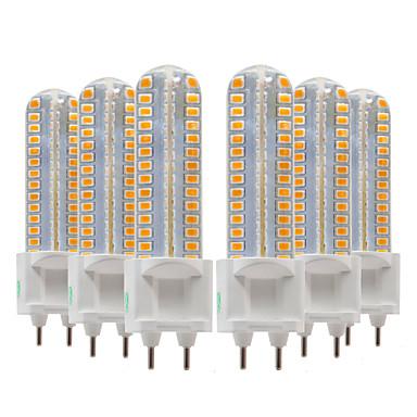 hesapli Ampul-Ywxlight® 6 adet 8 w 700-800lm g12 led bi-pin ışıkları 128led smd 2835smd 360 derece aydınlatma armatürü mısır ampul ac 220-240 v