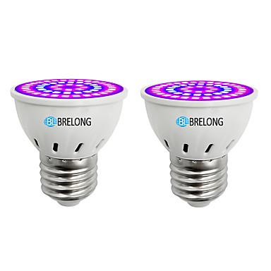 BRELONG® 2szt 7 W 300 lm E14 / GU10 / MR16 Żarówka Frow 54 Koraliki LED SMD 2835 Niebieski 220-240 V
