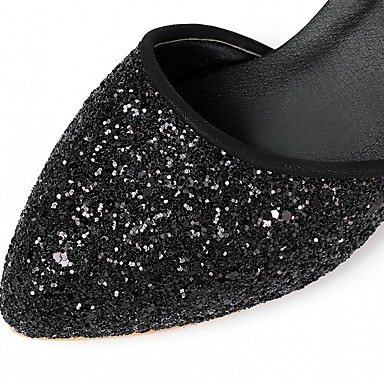 Chaussures Femme rond Similicuir à Bout Automne Talon 06600709 Rose Talons Rouge Nouveauté Printemps Strass Chaussures Bottier Noir Confort B1Ywq7r1x