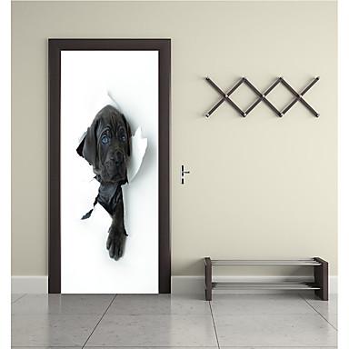 Naklejki na drzwi - Naklejki ścienne lotnicze / Naklejki ścienne 3D Zwierzęta / 3D Salon / Sypialnia / Możliwość zmiany miejsca
