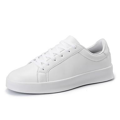 Homme Homme Homme Chaussures de confort Polyuréthane Printemps / Automne Mocassins et Chaussons+D6148 Randonnée Noir / Blanc | Service Supremacy  e08b62
