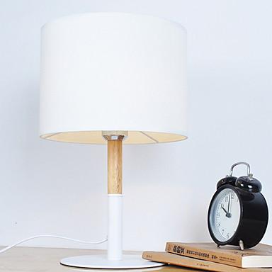 Tradycyjny / Klasyczny Dekoracyjna Lampa stołowa Na Metal 220-240V Biały / Czarny