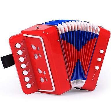 hesapli Oyuncaklar ve Oyunlar-Akordiyon Müzik Enstrimanlı Müzik Sanatçı Genç Kız Çocuklar için Oyuncaklar Hediye 1 pcs