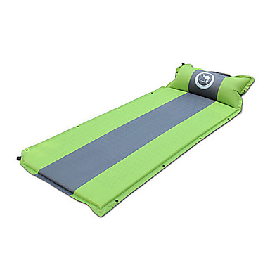 Shamocamel® Sleeping Pad Self-Inflating Camping Pad Outdoor Keep Warm Inflated Thick 187*67*3.5 Camping / Hiking Outdoor Spring Summer