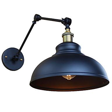 מאט רטרו\וינטאג' מנורות קיר סלון מתכת אור קיר 220V 40 W / E27