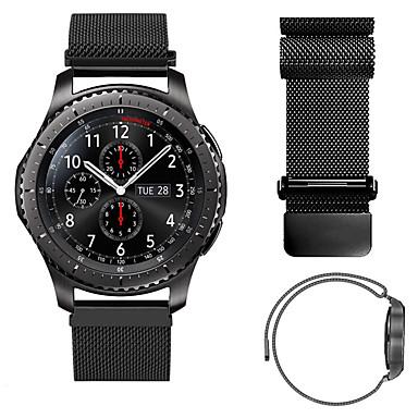 Klokkerem til Gear S3 Classic Samsung Galaxy Milanesisk rem Metall / Rustfritt stål Håndleddsrem