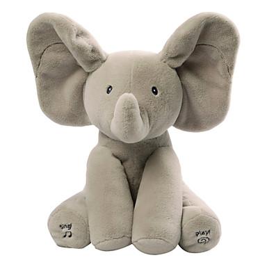 Baby Animated Flappy Słoń Zwierzątko pluszowe Śpiewanie / Słodkie Prezent