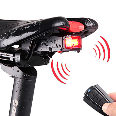 5964b574bf5fe7 LED Bike Light Rear Bike Tail Light Bike Light with Horn Mountain Bike MTB Cycling  Waterproof Remote Control / RC Multiple Modes 120 lm Rechargeable Power ...