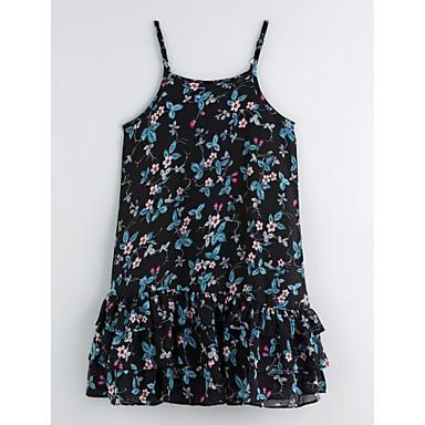 Brzdąc Dla dziewczynek Podstawowy Kwiaty Sukienka / Urocza