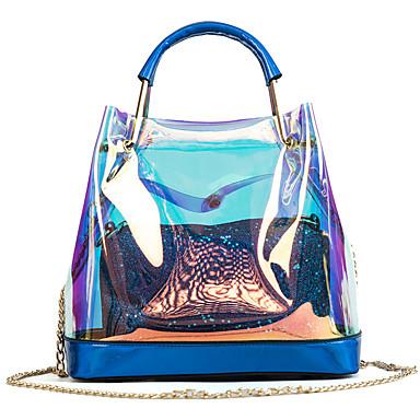 povoljno Vodootporne vrećice-Žene Gumbi Bag Setovi Kompleti za vrećice Vodootporno PVC / PU 2 kom Zlato / Pink / Red