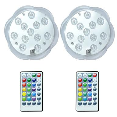 hesapli Dış Ortam Aydınlatma-brelong 2 adet 12led rgb dalış dekoratif ışıklar