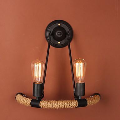 Vintage Lampy ścienne Korytarz Metal Światło ścienne 20 W / E26 / E27