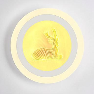 Zabawne Ścienne Obrazek Sypialnia / Gabinet / Office / Domowy Metal Światło ścienne 220-240V 13 W / LED Zintegrowane
