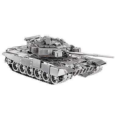 voordelige 3D-puzzels-3D-puzzels Metalen puzzels voortreffelijk Metallic Tank Kinderen Volwassenen Meisjes Geschenk