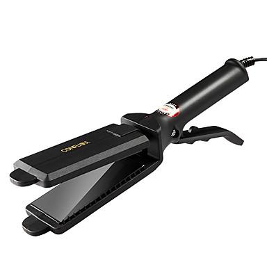 voordelige Haarverzorging-Factory OEM Rechte en Vlakke Ijzers voor Mannen & Vrouwen 220 V Draaibaar Snoer / Lamp Indicator / Curler & straightener