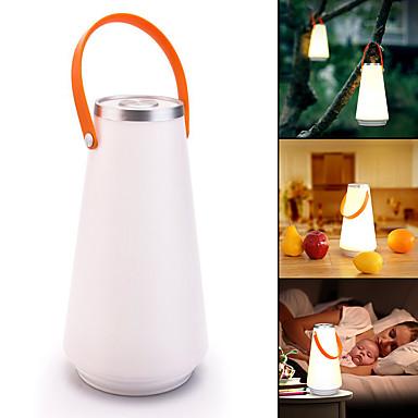 billige Lommelykter & campinglykter-Lanterner & Telt Lamper LED LED emittere 1 lys tilstand Bærbar Camping / Vandring / Grotte Udforskning Dagligdags Brug Hvit