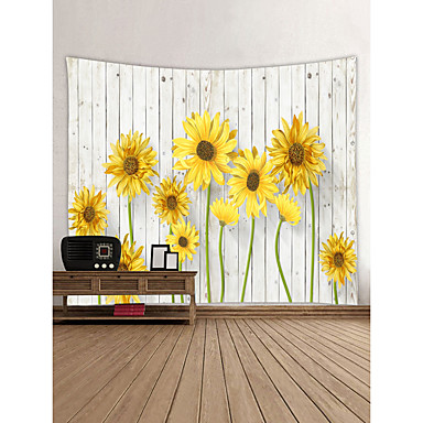 Th me jardin paysage d coration murale 100 polyester moderne nouvel an art mural tapisseries - Decoration murale jardin ...