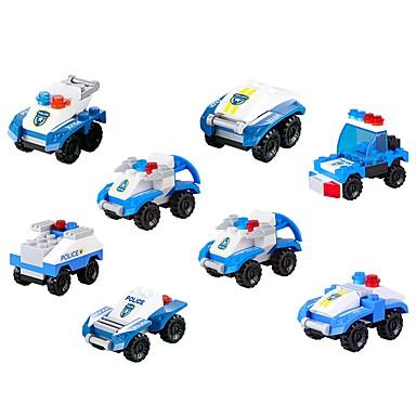 Klocki Pojazdy Zabawki dekompresyjne Interakcja rodziców i dzieci Pojazd wojskowy Radiowóz policyjny Dla chłopców Dla dziewczynek Zabawki Prezent