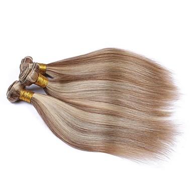 저렴한 가발 & 헤어 연장-3 개 묶음 브라질리언 헤어 요동하는 8A 인모 옴브레 한 팩 솔루션 인모 연장 10-28 인치 멀티색상 인간의 머리 되죠 소프트 여성 옴브레 헤어 인간의 머리카락 확장 여성용