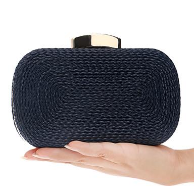 e9f230cee7 Γυναικεία Τσάντες Πολυεστέρας   PU Βραδινή τσάντα Κουμπί Σκούρο μπλε   Καφέ    Κρασί