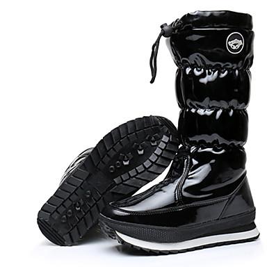 De Bottes La S6UxnwFHq Plat 06633013 Automne Chaussures Noir Verni w6ddCqE