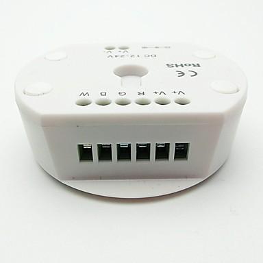 1 szt. 12 V / 24 V Akcesorium żarówki / Akcesoria do taśm świetlnych / APP Plastik Przełącznik ściemniacza / Kontroler / Kontroler RGB do oświetlenia taśmą LED