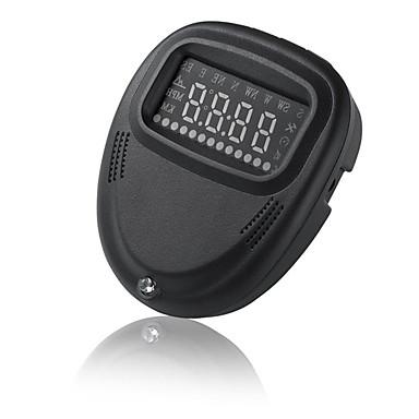 A1 LED Przewodowa Wyświetlacz Head Up Wskaźnik LED / Podłącz i graj / Wyświetlacz wielofunkcyjny na Samochód / Autobus / Ciężarówka Prędkość jazdy