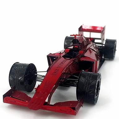 voordelige 3D-puzzels-3D-puzzels Creatief Focus Toy Handgemaakt Voertuigen Staande Stijl Speelgoed F1-wagen Geschenk