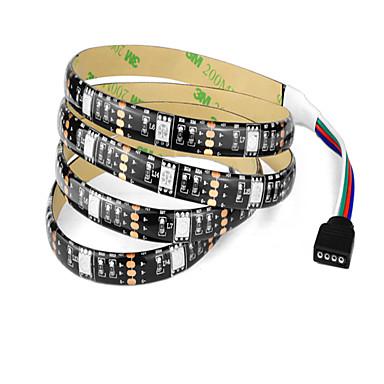 1 m Taśmy świetlne RGB 30 Diody LED 1 Kable DC RGB Wodoodporne / Nadaje się do krojenia / Dekoracyjna 5 V / Zasilanie przez USB / IP65 / Możliwość połączenia / Samoprzylepne