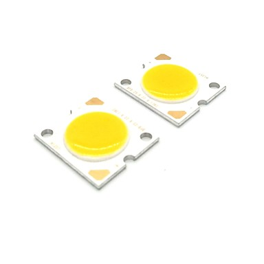 ZDM® 2pcs COB Accesoriu pentru becuri Cip LED silicagel / LED de aur pur pentru DIY LED lumina de inundații 20 W