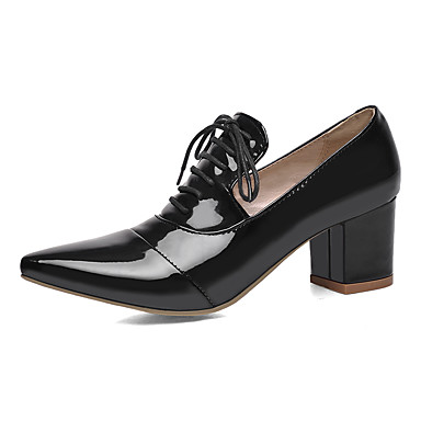 Noir Similicuir Chaussures été Chaussures Escarpin 06674050 Bottier Basique Rose Bout Rouge à Printemps Femme Talons pointu Talon wOqdgw